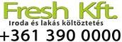 Fresh Kft. - Költöztetés