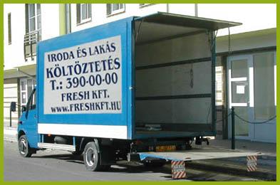 Költözteteés Budapesten ingyenes felméréssel garanciával