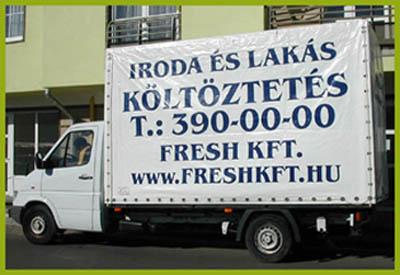 Költöztetés Budapestről fóliázással